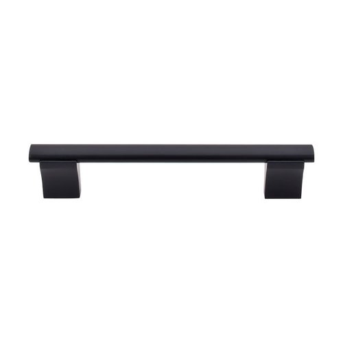 Top Knobs Bar Pull 5-1/16 Inch Center to Center Flat Black Cabinet Pull M1095