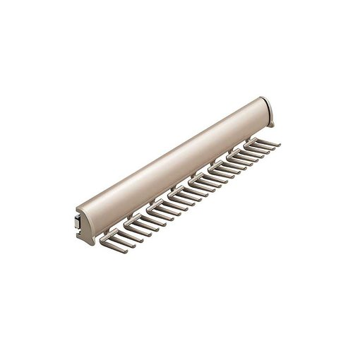 "Elite Tie Rack Matte Nickel 17-7/8"" L - 24 Hook <small>(#807.67.605)</small>"