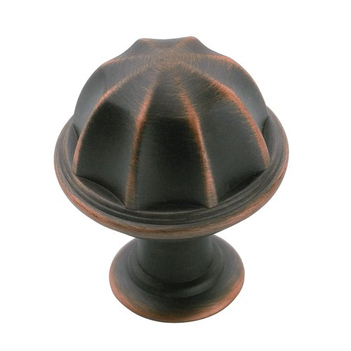 Amerock Eydon 1 Inch Diameter Oil Rubbed Bronze Cabinet Knob BP53035ORB