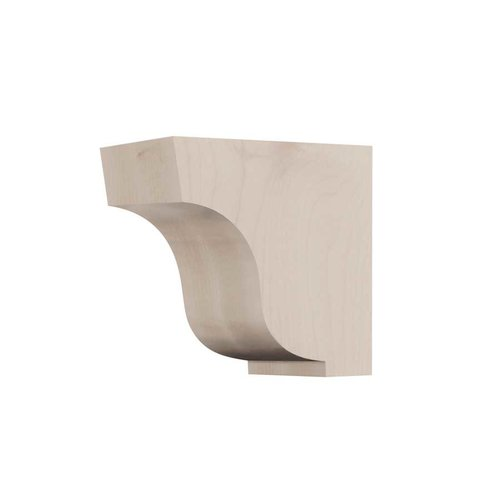 Small Simplicity Corbel Unfinished Hard Maple <small>(#01607005HM1)</small>