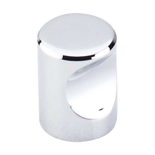 Nouveau II 3/4 Inch Diameter Polished Chrome Cabinet Knob <small>(#M580)</small>