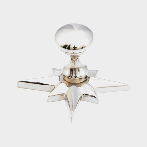 Schaub and Company Sonata 11/16 Inch Diameter Polished Nickel Cabinet Knob 982-PN