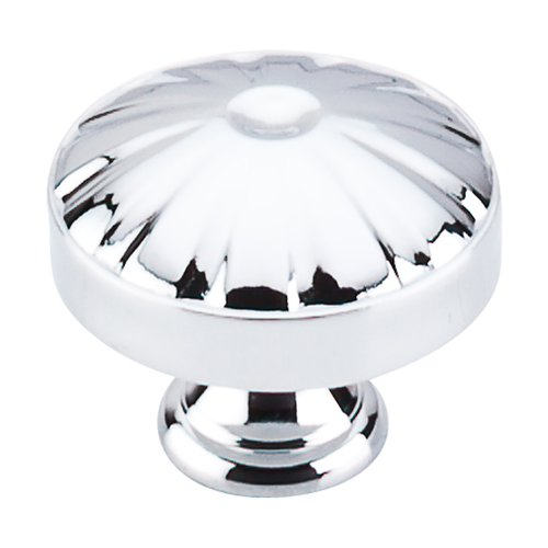Top Knobs Dakota 1-1/4 Inch Diameter Polished Chrome Cabinet Knob M1610
