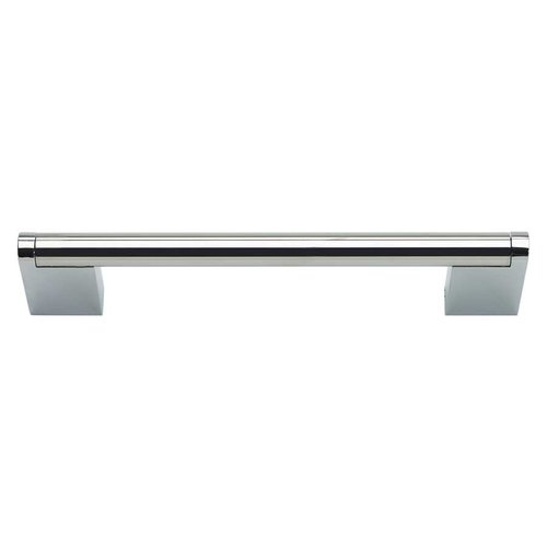 Atlas Homewares Round 5-1/16 Inch Center to Center Pol Stainless Steel Cabinet Pull A857-PS