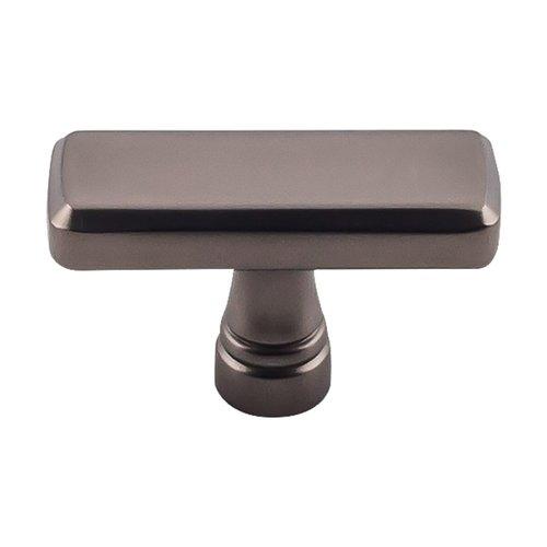 Top Knobs Devon Kingsbridge Knob 1-7/8 inch Diameter Ash Gray TK851AG