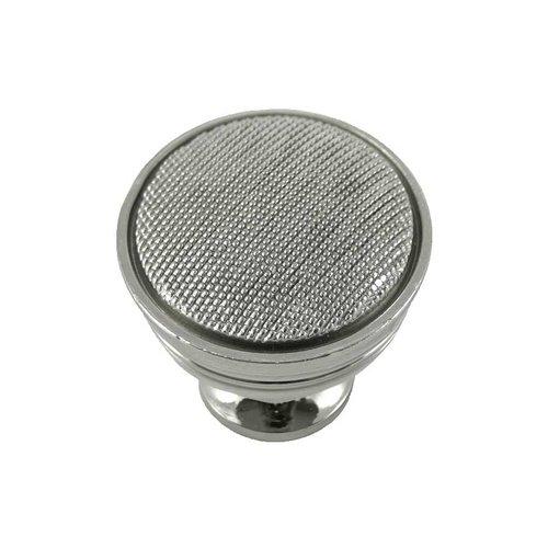 MNG Hardware Vanilla 1-1/4 Inch Diameter Polished Nickel Cabinet Knob 17114