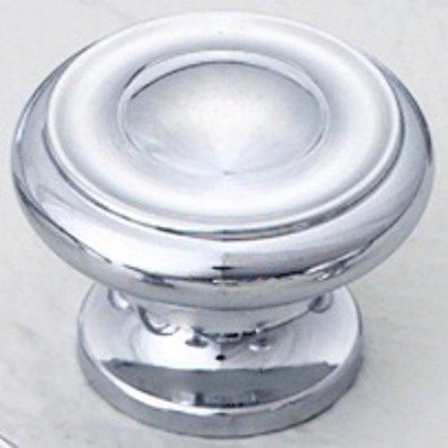 Schaub and Company Colonial 1-1/2 Inch Diameter Polished Chrome Cabinet Knob 704-26