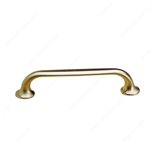 Richelieu Contemporary Classics 3-3/4 Inch Center to Center Brushed Nickel Cabinet Pull BP66996195