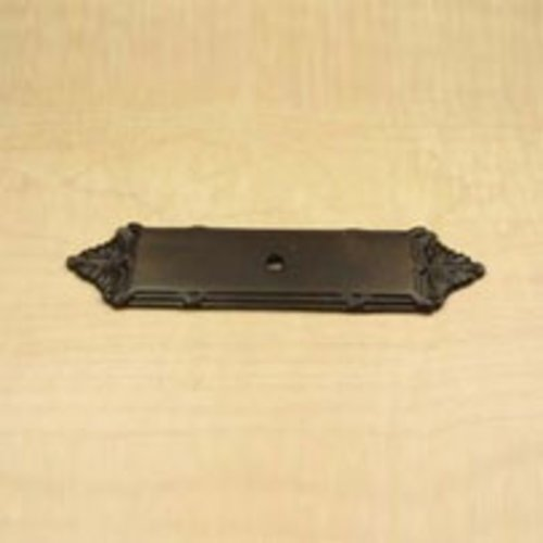 Century Hardware Georgian 3-3/4 Inch Center to Center Oil Rubbed Bronze Back-plate 16079-10B