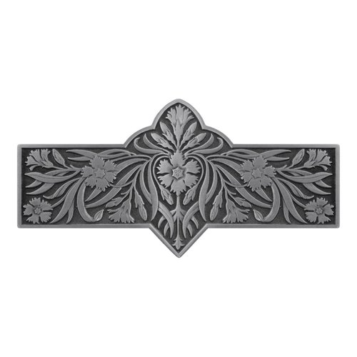 Notting Hill English Garden 3 Inch Center to Center Antique Pewter Cabinet Pull NHP-678-AP