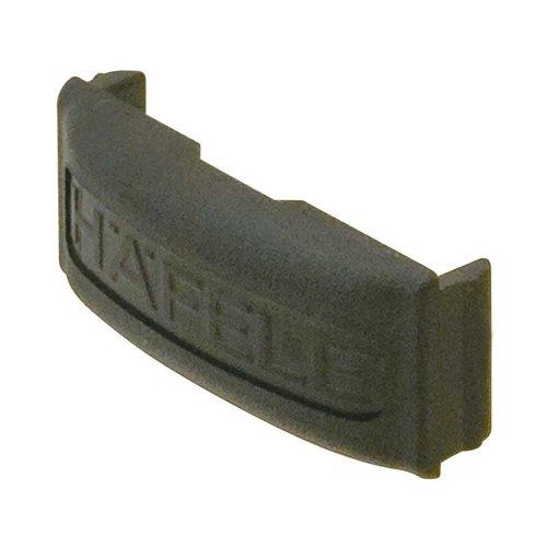 Hafele Omni Track Cover Cap For Hooks Black Plastic 792.02.349