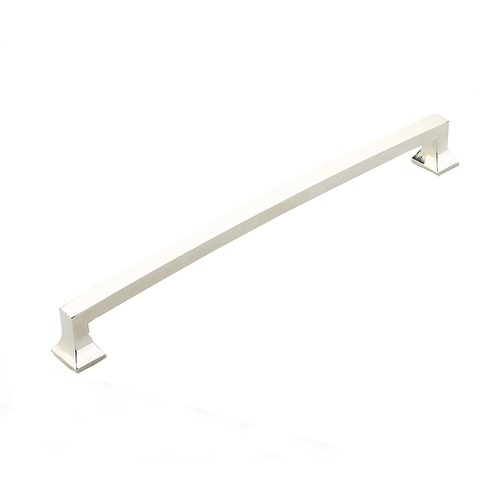 Menlo Park 15 Inch Center to Center Polished Nickel Appliance Pull <small>(#539-PN)</small>