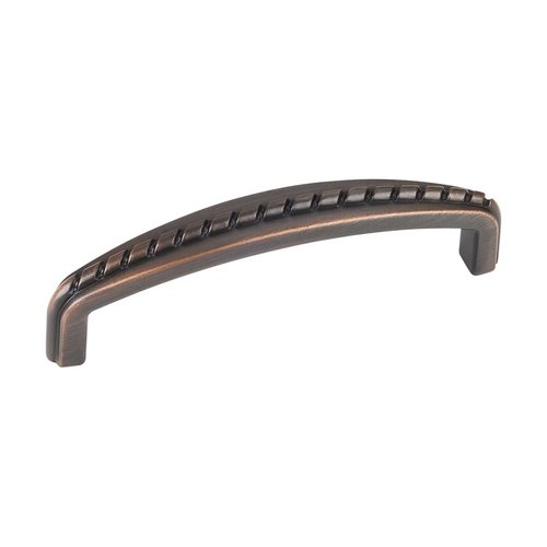 Cypress 3-3/4 Inch Center to Center Dark Brushed Antique Copper Cabinet Pull <small>(#Z118-96DBAC)</small>