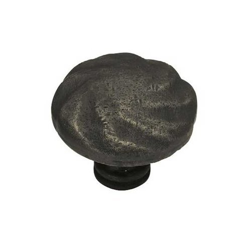 Liberty Hardware Rustique 1-1/2 Inch Diameter Distressed Oil Rubbed Bronze Cabinet Knob PN1320-OB-C