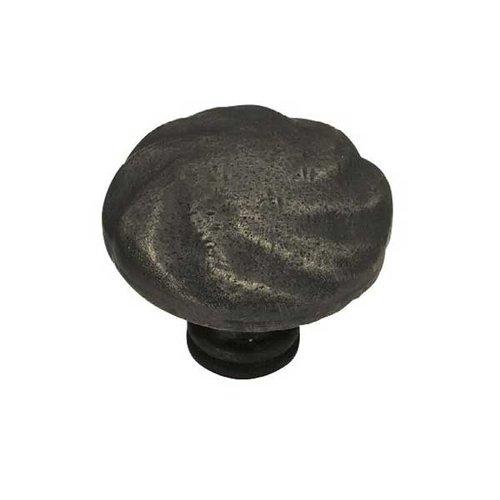 Liberty Hardware Rustique 1-1/2 Inch Diameter Distressed Oil Rubbed Bronze Cabinet Knob PN1320-OB-C