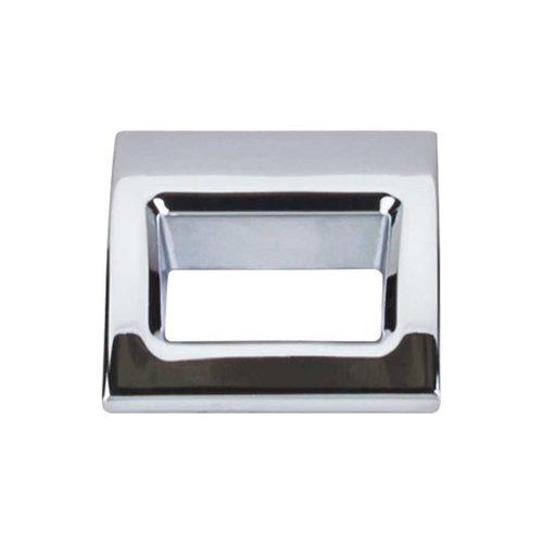 Top Knobs Mercer 1-1/8 Inch Length Polished Chrome Finger Pull TK615PC