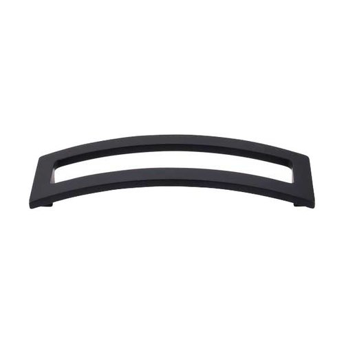 Top Knobs Sanctuary II 5 Inch Center to Center Flat Black Cabinet Pull TK247BLK