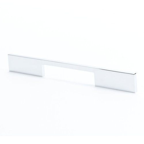 R. Christensen I-Spazio 7-9/16 Inch Center to Center Polished Chrome Cabinet Pull 9297-1026-C