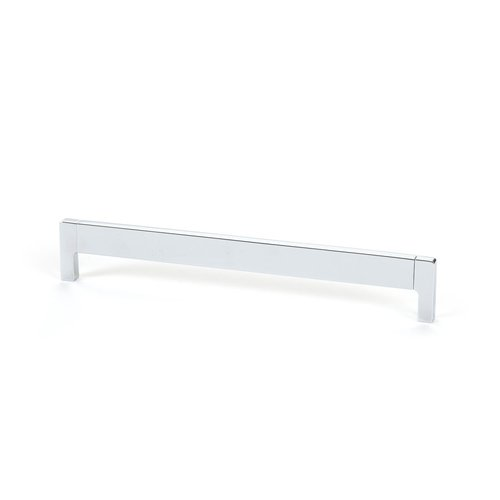 R. Christensen Lungo 7-9/16 Inch Center to Center Polished Chrome Cabinet Pull 9732-4026-C