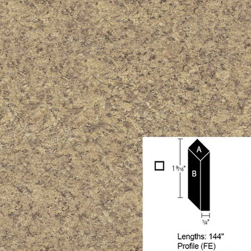 Wilsonart Bevel Edge - Milano Quartz Quarry Finish-12Ft <small>(#CE-FE-144-4726-52)</small>