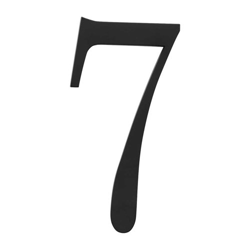Atlas Homewares Traditionalist House Number Seven Black TRN7-BL