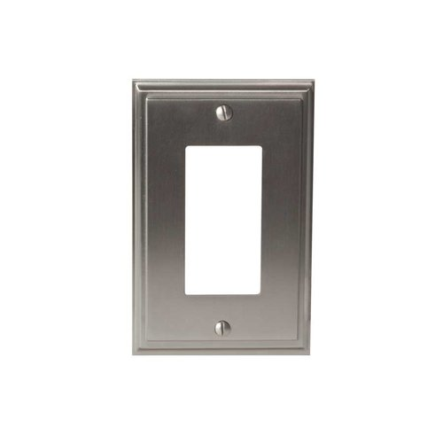 Amerock Mulholland One Rocker Wall Plate Satin Nickel BP36518G10