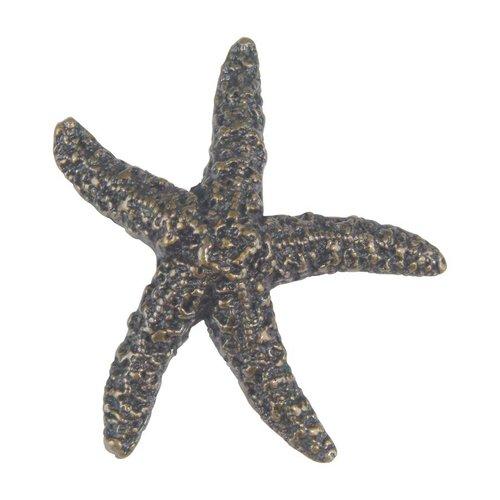 Atlas Homewares Sea 2 Inch Diameter Burnished Bronze Cabinet Knob 142-BB