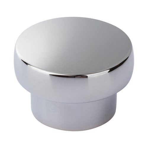 Chunky Knobs 1-1/3 inch Diameter Polished Chrome <small>(#A913-CH)</small>