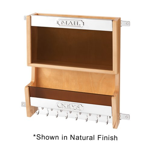 4MR Door Mount Mail Organizer White <small>(#4MR-18-W)</small>