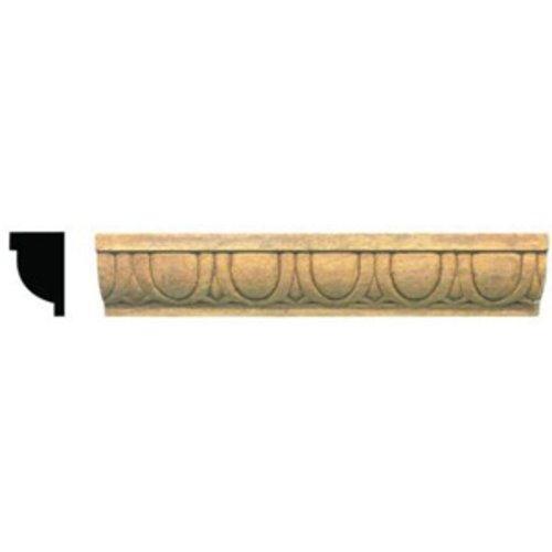 Omega National Products Style E023E4 Embossed Molding 8 feet Maple-4/Box E023E4960MUF8