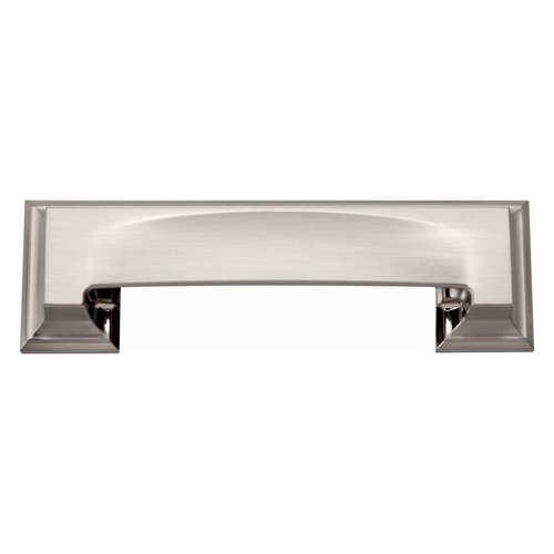 Atlas Homewares Sutton Place 3 Inch Center to Center Brushed Nickel Cabinet Cup Pull 339-BRN