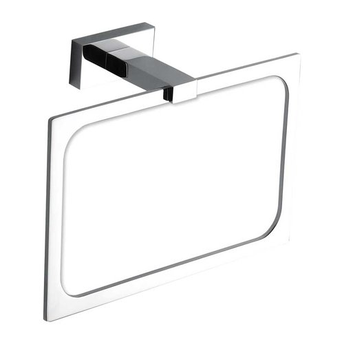 Atlas Homewares Axel Towel Ring 8 inch Polished Chrome AXTR-CH