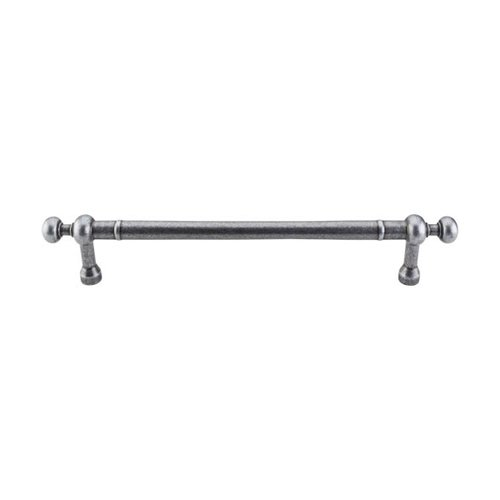 Appliance Pull 12 Inch Center to Center Pewter Appliance Pull <small>(#M837-12)</small>