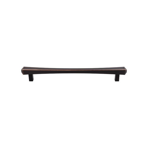 Top Knobs Serene 12 Inch Center to Center Tuscan Bronze Appliance Pull TK818TB