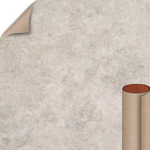 Nevamar Grey Tranquility Textured Finish 5 ft. x 12 ft. Countertop Grade Laminate Sheet TQ6001T-T-H5-60X144