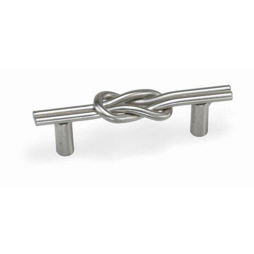 Laurey Hardware Nantucket 3 Inch Center to Center Satin Pewter Cabinet Pull 57559
