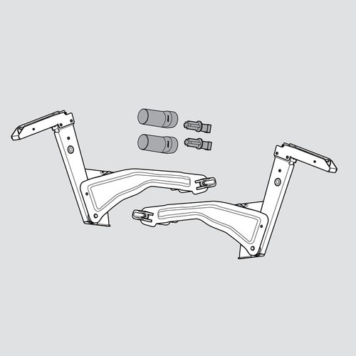 Aventos HS Arm Assembly Set <small>(#20S3500.05)</small>