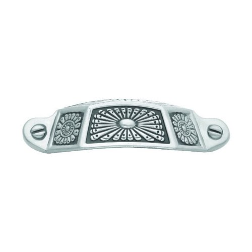 Hickory Hardware Southwest Lodge 3 Inch Center to Center Silver Medallion Cabinet Cup Pull P392-SM