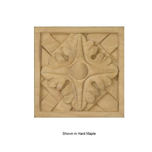 Brown Wood Small Weaved Tile Unfinished Alder 01902070AL1