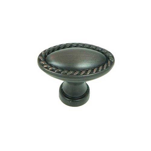 Stone Mill Hardware Palermo 1-3/8 Inch Diameter Oil Rubbed Bronze Cabinet Knob CP80104-OB