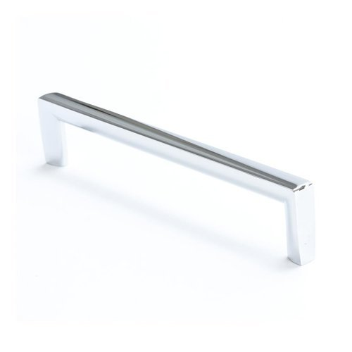 Berenson Metro 6-5/16 Inch Center to Center Polished Chrome Cabinet Pull 4119-1026-P