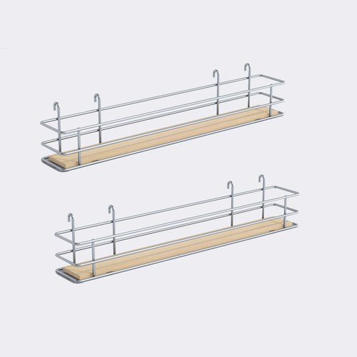 "Vauth Sagel DSA Two Basket Set 3.38"" Wide - Silver/Maple 9000 2585"