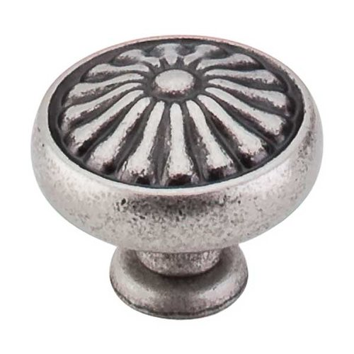 Top Knobs Normandy 1-1/4 Inch Diameter Pewter Antique Cabinet Knob M1598