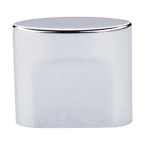 Top Knobs Sanctuary 3/4 Inch Center to Center Polished Chrome Cabinet Knob TK73PC