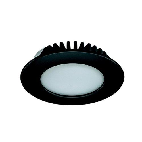 Hafele Loox 2020 12V LED Black Spotlight Cool White 833.72.287