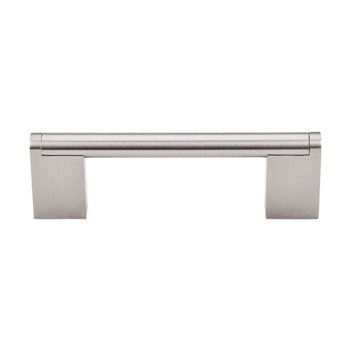 Top Knobs Bar Pull 3-3/4 Inch Center to Center Brushed Satin Nickel Cabinet Pull M1041