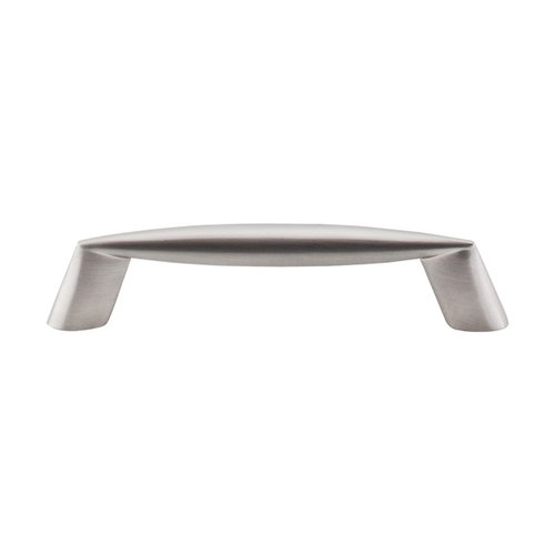 Top Knobs Nouveau II 3-3/4 Inch Center to Center Brushed Satin Nickel Cabinet Pull M567