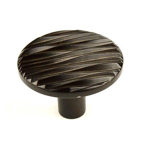 Century Hardware Dolce 1-3/4 Inch Diameter Light Oil Rubbed Bronze Cabinet Knob 28919-OBL