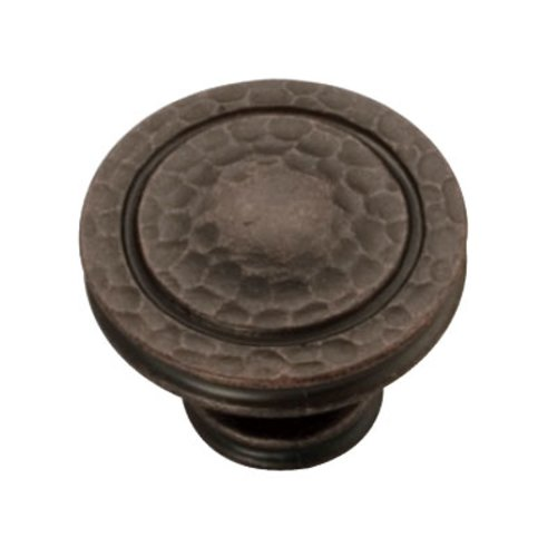 Hickory Hardware Mountain Lodge 1-3/8 Inch Diameter Dark Antique Copper Cabinet Knob P3061-DAC