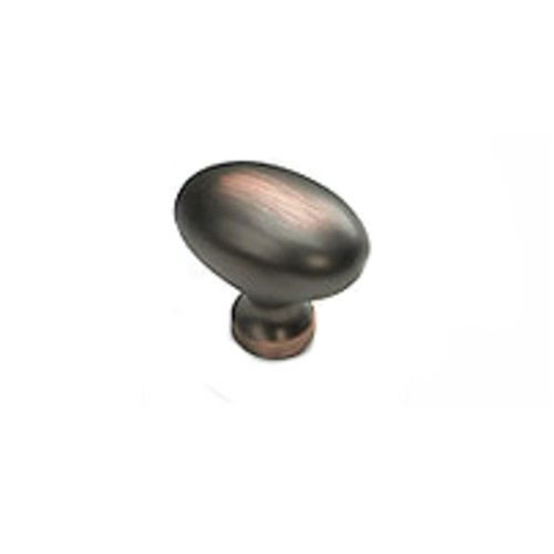 Schaub and Company Solid Brass Traditional Designs 1-3/8 Inch Diameter Michelangelo Bronze Cabinet Knob 719-MIBZ